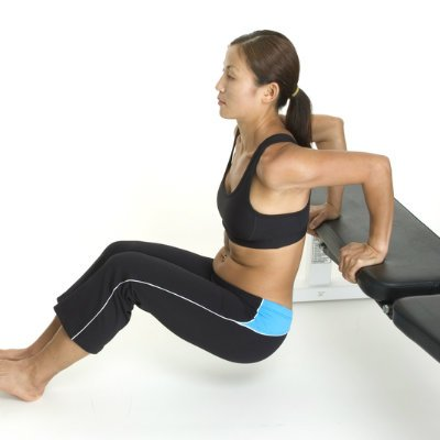Tricep Dips to Build Arm Strength and Size