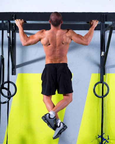 Pull-ups for Back Workout