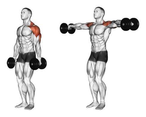 Iron Cross Shoulder Workout