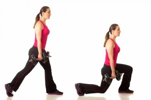 Leg Lunges for Bodyweight Strength
