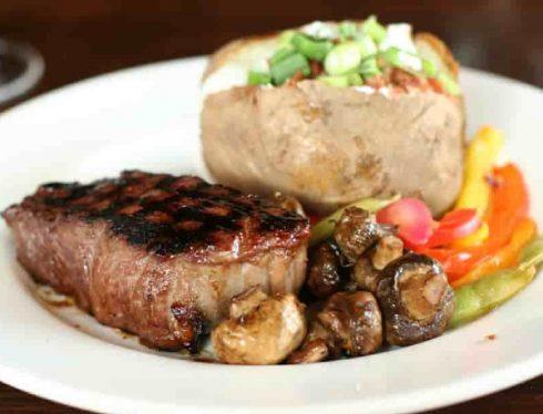 Sirloin Steak Lean Protein Meat