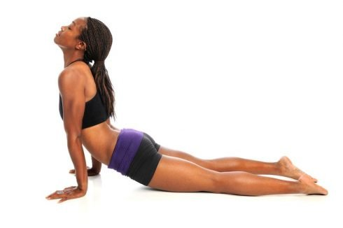 Modified Pushup Lower Back Stretch